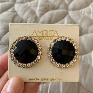 Amrita Singh Bridgehampton Earring - Black